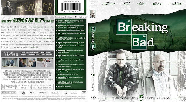 Capa Bluray Breaking Bad Quinta Temporada Completa