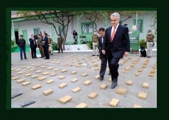 Resultado de imagen para pinochet piñera narcotrafico y la derecha chilena