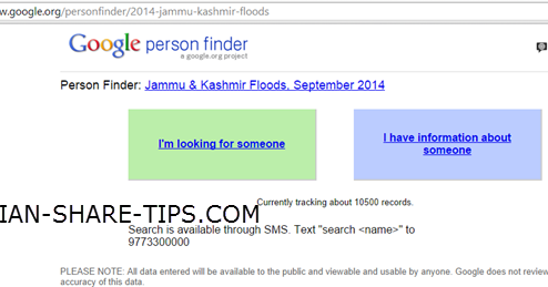 How to Trace a Missing Person in Calamity? | Indian Stock
