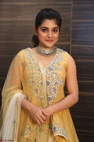 Nivetha Thamos in bright yellow dress at Ninnu Kori pre release function ~  Exclusive (68).JPG