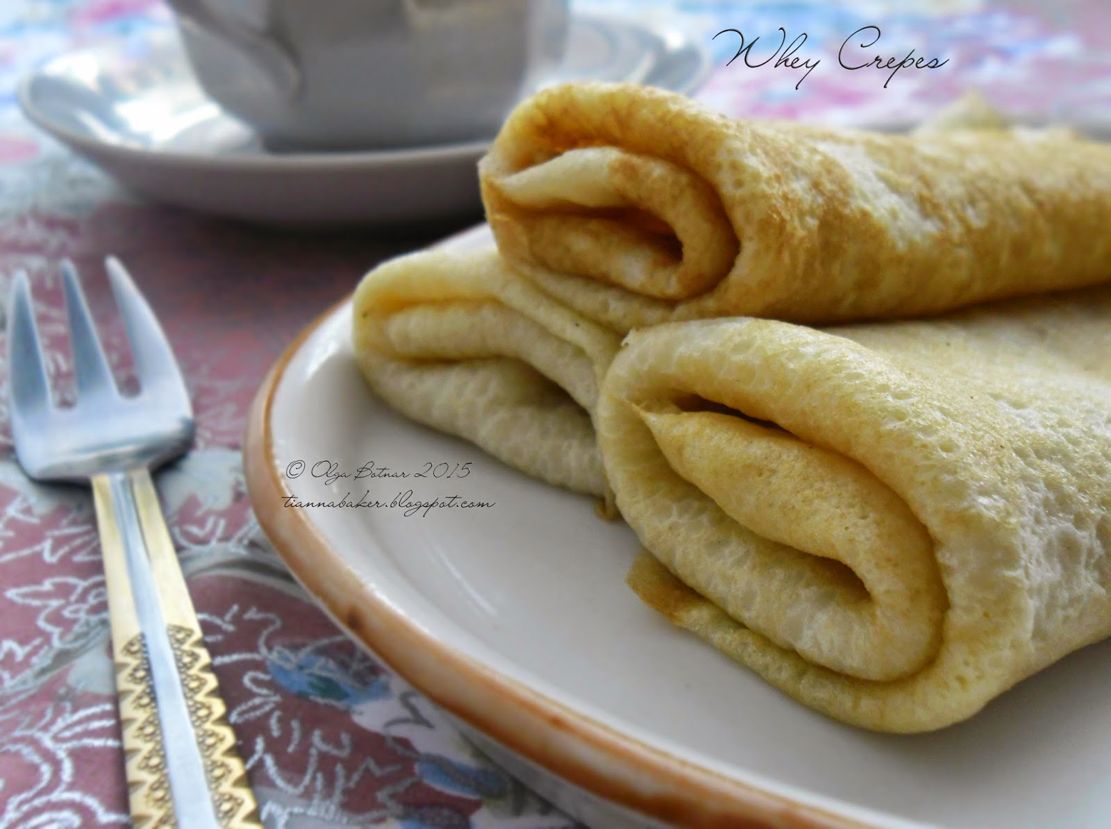 Whey crepes recipe