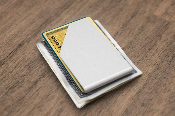 Slim Stainless Steel Money Clip Wallet