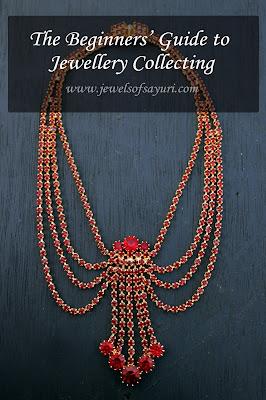 vintage czech necklace