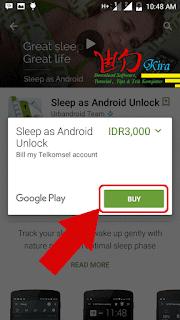 Cara membeli konten aplikasi di google play store Wd-Kira