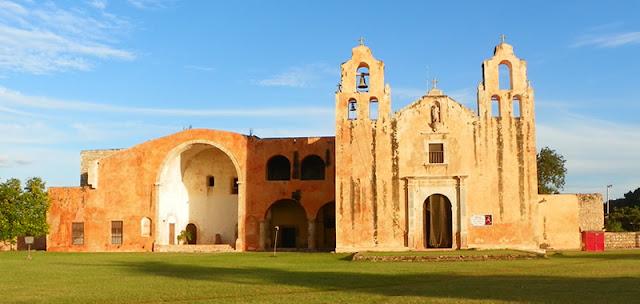 Ruta conventos, Yucatán