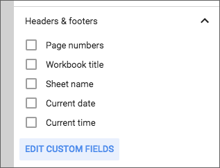 G Suite Updates Blog Create Custom Headers And Footers In Google Sheets