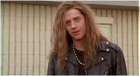 Young Brendan Fraser Airheads