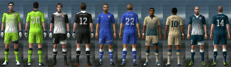 Dinamo Zagreb 11/12 Kit Set by Cuky