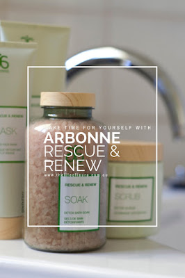 Arbonne Rescue and Renew Pinterest