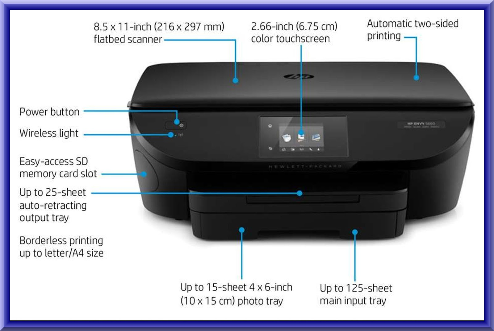 how to get an internet connect to hp printer
