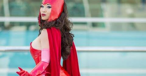 Funny cute cool yaya han as scarlet witch - Scarlet witch boobs ...