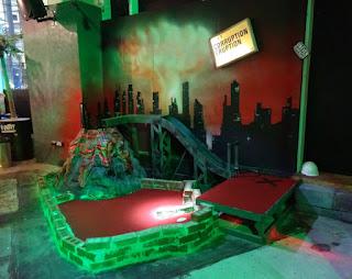 Junkyard Crazy Golf course in Manchester
