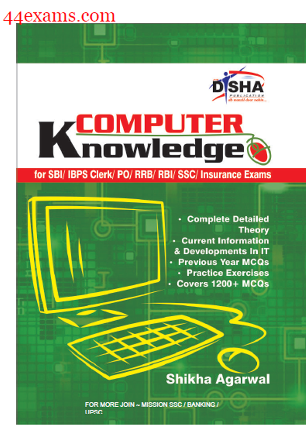 Computer Knowledge By Disha Publication : For All Competitive Exam PDF Book