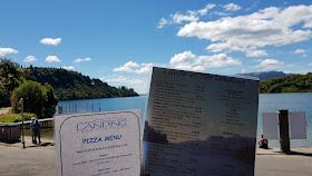 The Landing Lake Terawera Menu