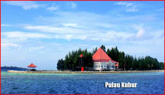Foto Pulau Kubur Bandar Lampung