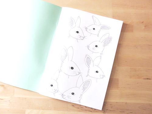 Emma Margaret Illustration Sketchbook 2016 Rabbits