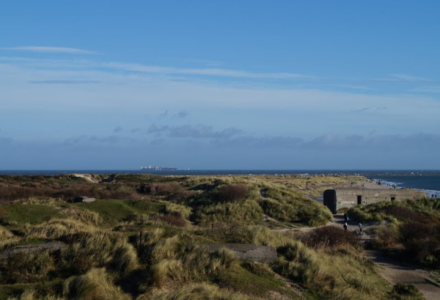 Tipps für einen Tag rund um Skagen. Teil 1: Råbjerg Mile und Grenen. Die Aussicht bei Grenen an einem klaren Tag ist phantastisch!