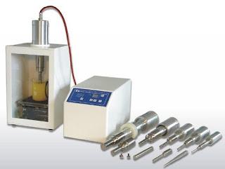contoh alat Ultrasonic Homogenisers