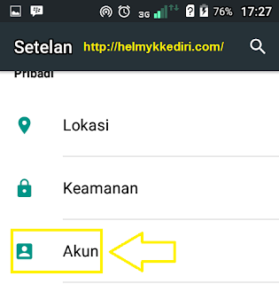 Verifikasi login akun gmail dengan ponsel1