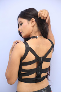 Shriya Vyas in a Tight Backless Sleeveless Crop top and Skirt 156.JPG