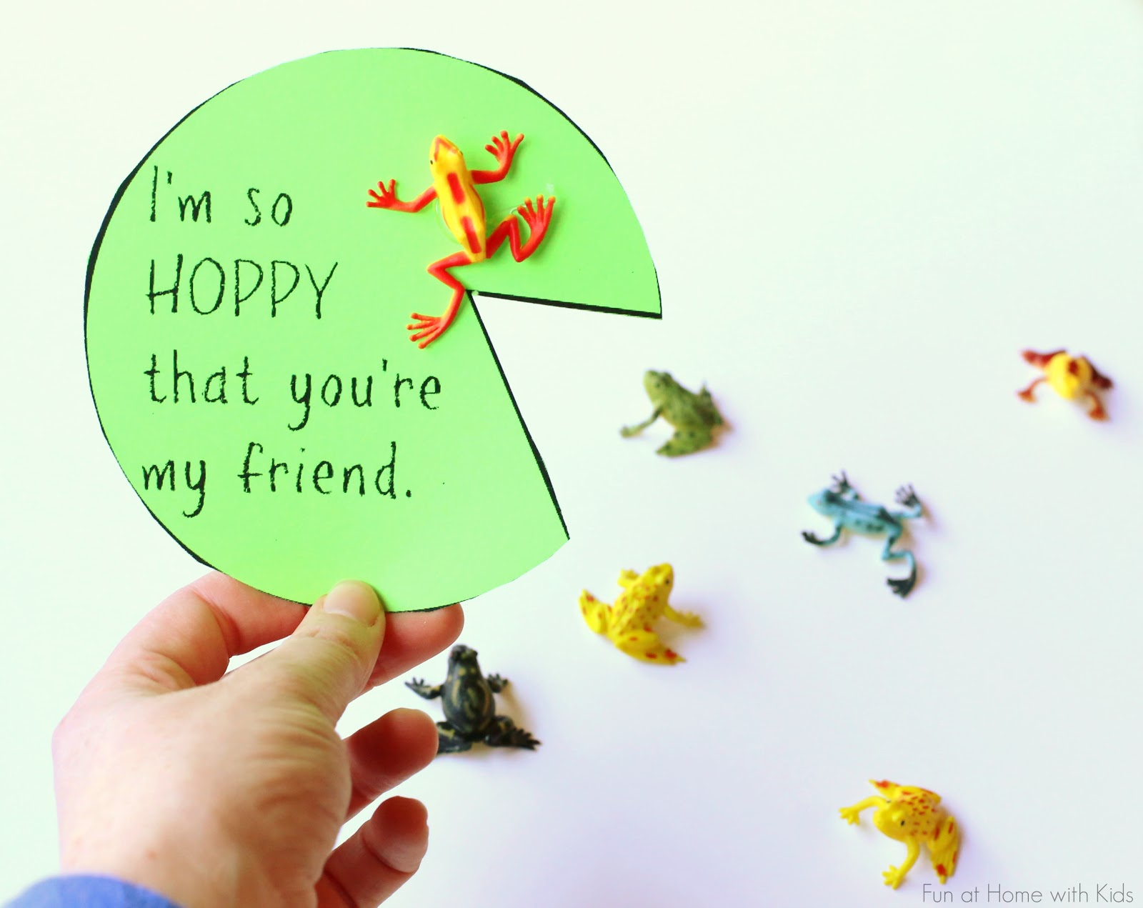 Smart image within printable friendship cards