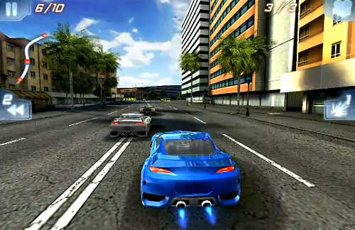 3d formula extreeme car racing game download for 240x400.