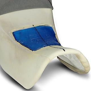Plancha de gel para asiento de moto