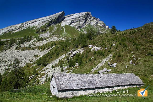 Alpe i Motti e Pioda di Crana