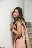 Shilpa Chakravarthy in Lovely Designer Pink Saree with Cat Print Pallu 016.JPG