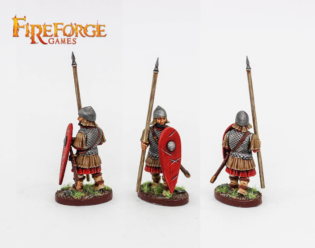 Fireforge Games: New Plastic Byzantine Infantry Previewed!