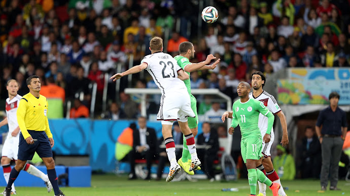 Wallpaper: Germany vs. Algeria at World Cup 2014
