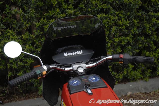 Les cousines Benelli / Moto Guzzi 254 (Années 70) _DSC0033