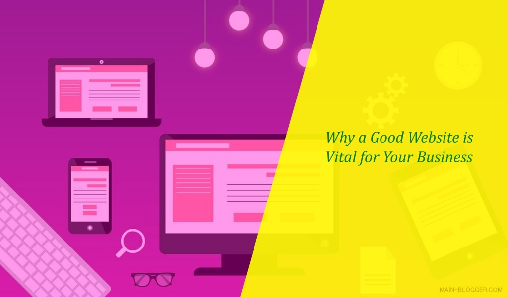 why a good web design for success business