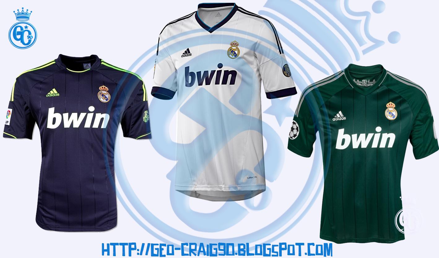 new arrival 0b1bf c69dc GC_90: PES 2017 Real Madrid Kit Season 2012-13 HD