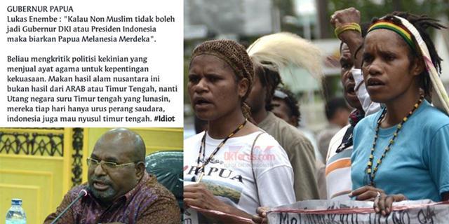 meme hoax gubernur papua lukas enembe