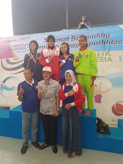 Sumbang Medali Emas, Siti Aisah, Terima Reward Rp 25 juta