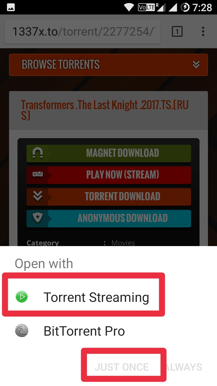 how to download torrents on phone