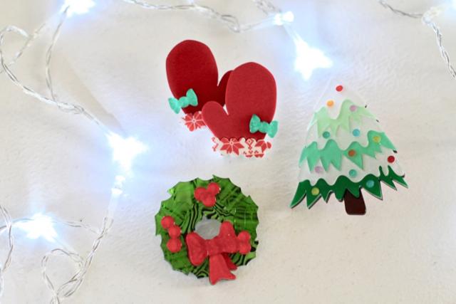 Kitschy Christmas three Erstwilder brooches