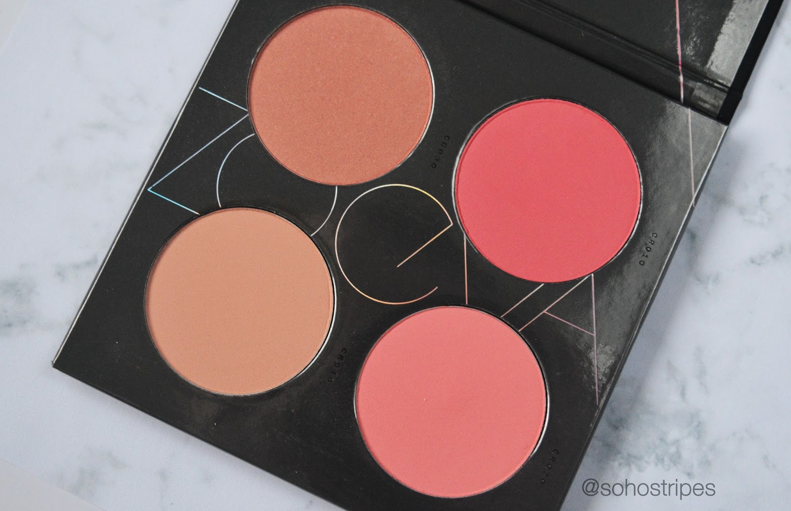 Zoeva Coral Spectrum Blush Palette Review