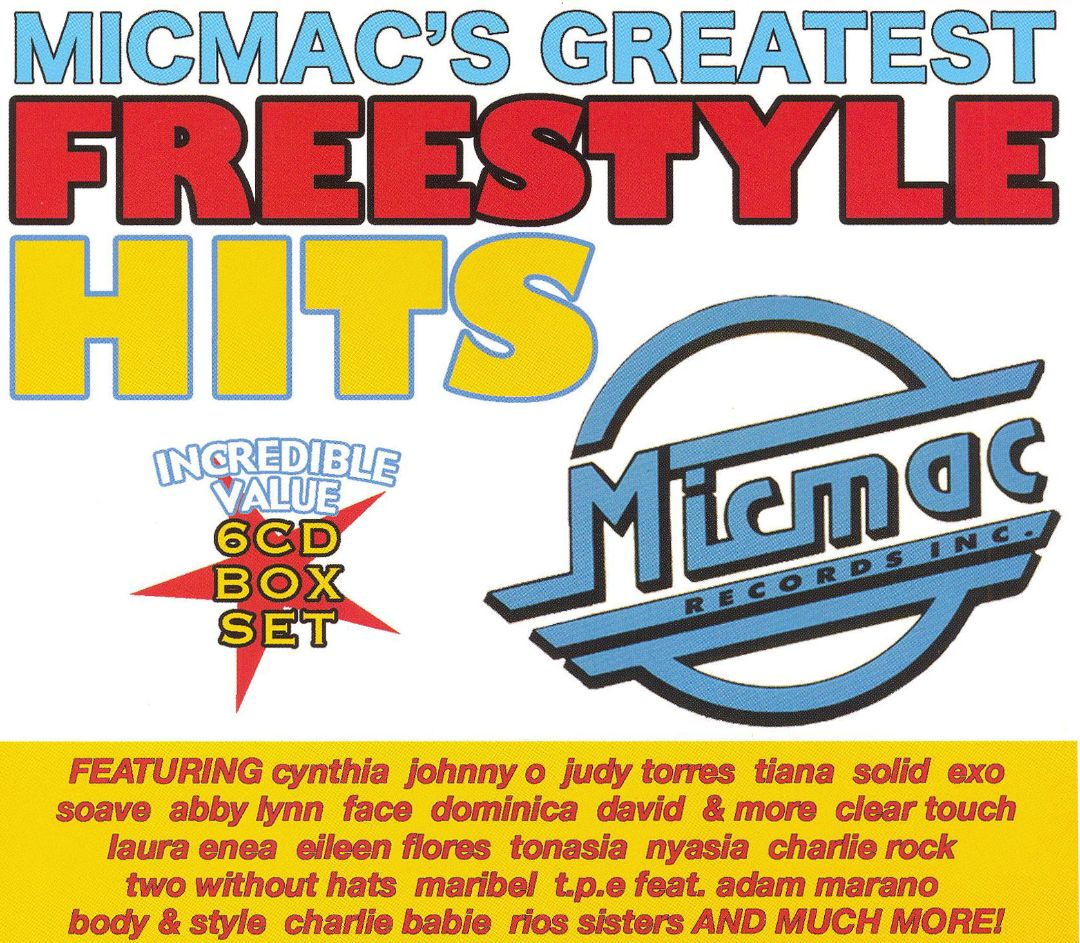 SUCESSOS DE SEMPRE: VARIOUS - MICMAC'S GREATEST FREESTYLE HITS