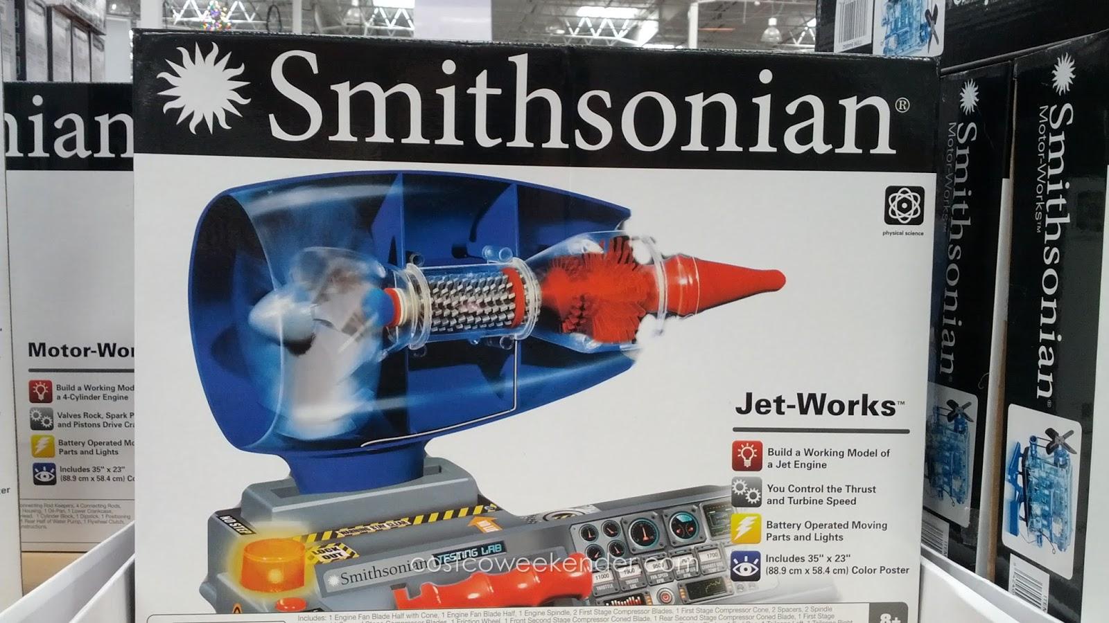 Smithsonian Motor-Works or Jet-Works | Costco Weekender