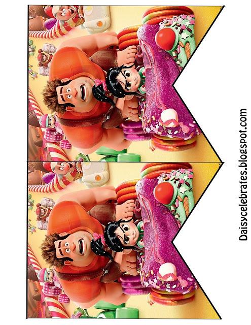 Ralph el Demoledor: Mini Kit para Imprimir Gratis.