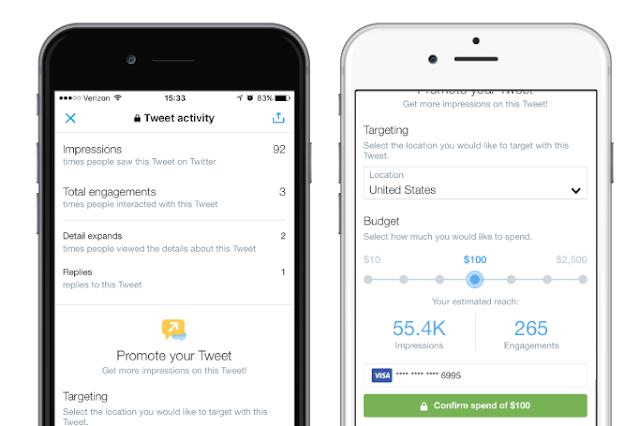 Quick Promote es la forma más sencilla de que tus Tweets lleguen a una audiencia más amplia