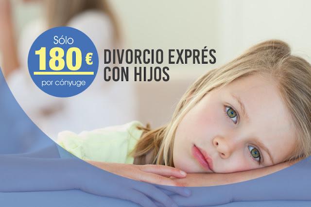 Divorcio exprés con hijos desde 180