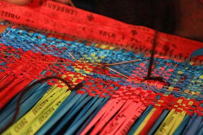tecelagem artistica, a arte da tecelagem