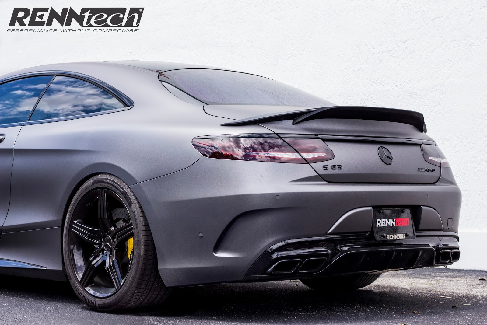 Mercedes Benz C217 S63 Amg Coupe By Renntech Benztuning
