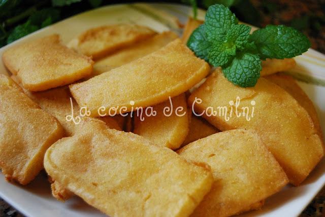 Panizas de Cádiz (La cocina de Camilni)