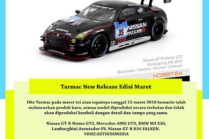 New Release Tarmac Edisi Maret 2018