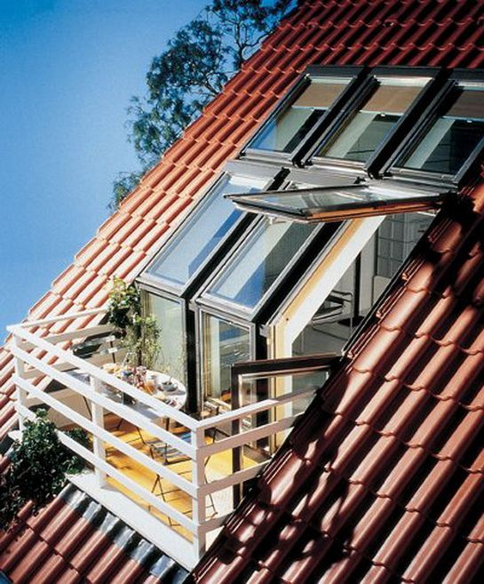 Roof Balcony Home Design Ideas - Decor Units