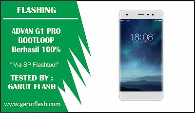 Cara Flash Advan G1 Pro Bootloop Via SP Flashtool